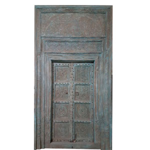 antique wooden door windows